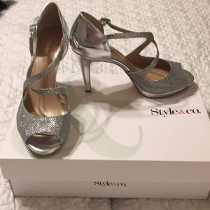 Style & Co women's evening shoes.
